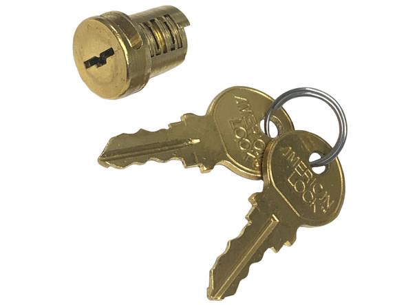 American Lock ABTC1KA D575 Padlock Cylinder, Keyed Alike D575