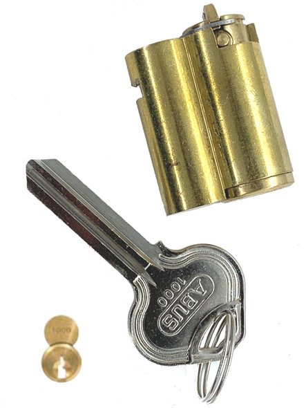 Cylinder, Abus 8302-1000, for 83/45 Russwin D1-D4 (Keyed Different)