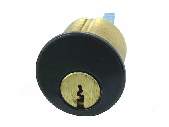 Rim Cylinder, R118-RD1-10B, Corbin Russwin D1, Keyed Alike (2-Pack)
