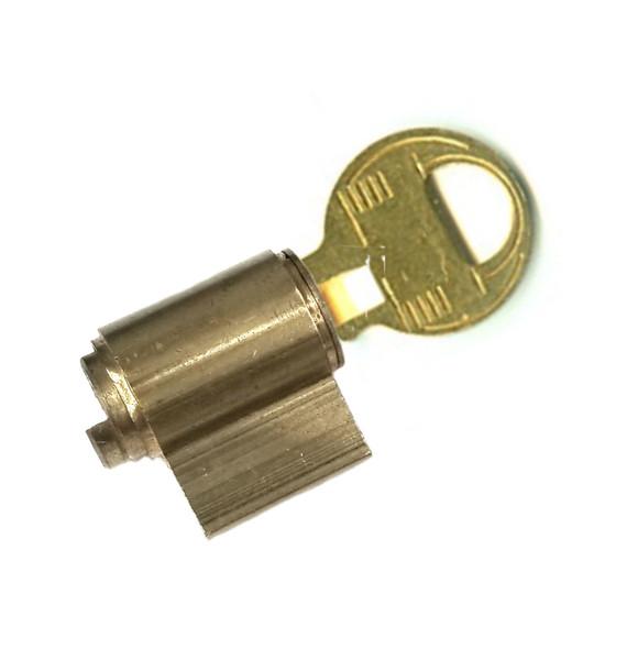 Master Lock 295W1 KZ Cylinder, for Padlock 1K Keyway, Zero Bitted