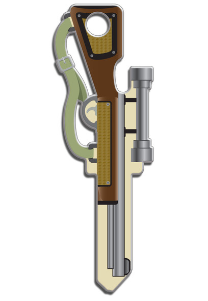 Key Shapes, Key Blank Rifle B118K