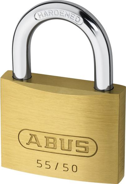 Abus 55/50KA 5501 Brass Body Padlock, Keyed Alike 5501