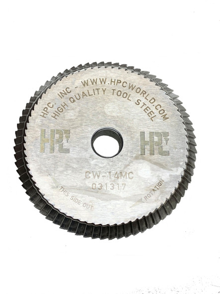 HPC CW-14MC Key Cutter Wheel