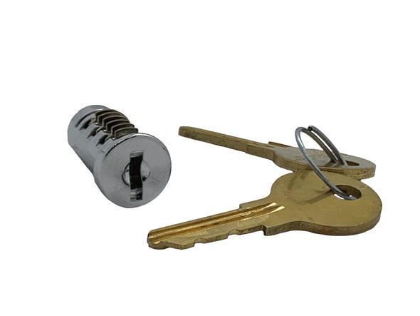 Key Plug, P-1060-19 KA for T-Handle OU-4260-6T, Custom Keyed
