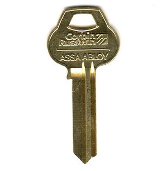 Corbin Russwin D41-6-10 Key Blank, D41 6 Pin