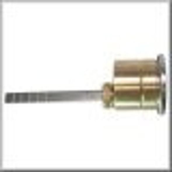 Rim Cylinder, GMS R118-SCE 26D, Schlage E, Custom Keyed