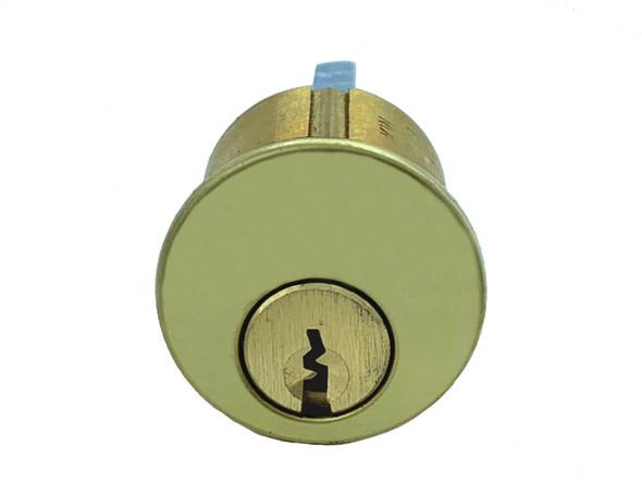 Rim Cylinder, GMS R118-SCE US3, Schlage E, Keyed Alike (2-Pack)