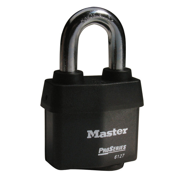 Master Lock 6127 Pro Series Padlock, Factory Keyed