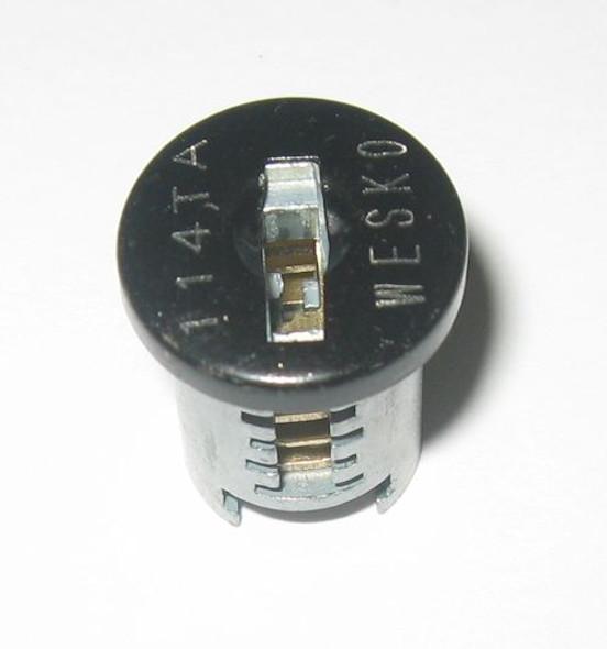Wesko TA Black Plug with 2 keys