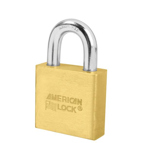 American Lock  A5570 Brass Body Padlock, Custom Keyed