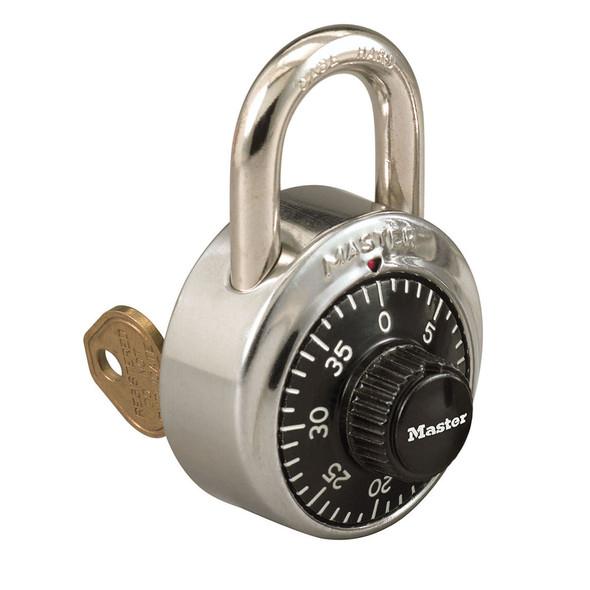 Master Lock 1525 Padlock, Combination Key Bypass V660