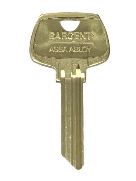 6278CL Key Blank, Sargent CL 6-Pin