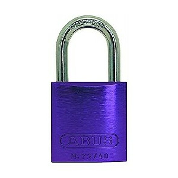 Abus 72/40 Purple Padlock KA TT00036