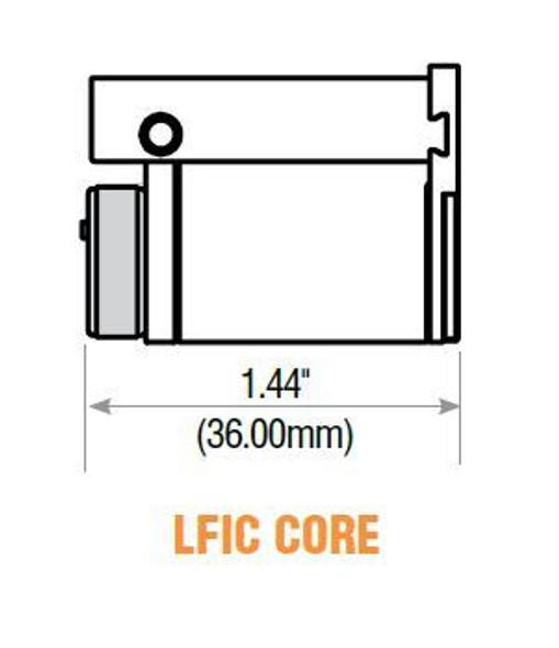 GMS LFIC-SC-26D LFIC Core, Schlage C Keyway, Master Keyed