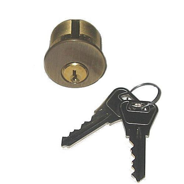 """Ilco 7165-WA-2-05 1"""" Mortise Cylinder, Weiser US5, Keyed Alike (2-Pack)"""