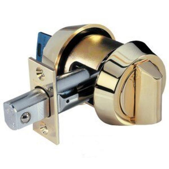 Mul-T-Lock 206SP-HD1-05 Hercular Deadbolt S/C, Bright Brass/US3, Keyed Alike