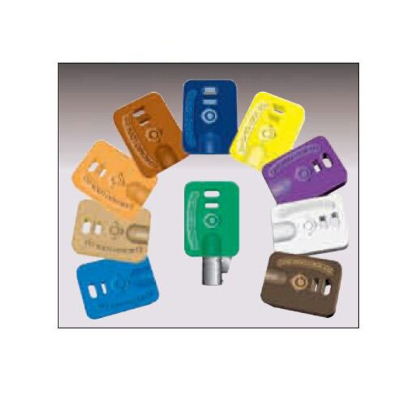 Chicago D9649 White Ace Key Cover (5-Pack)