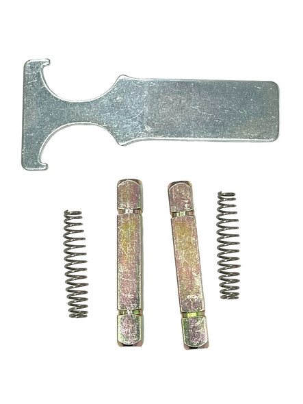 Cal-Royal MLSSS Spindle and Spring for Mortise Locks (2 Pack)