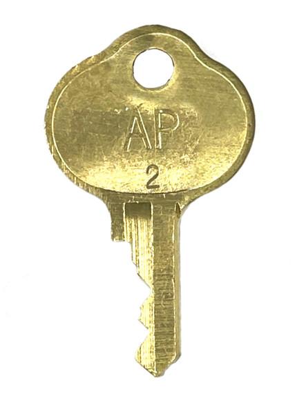 AP #2 Enclosure Lock Cut Key (Sold Each)