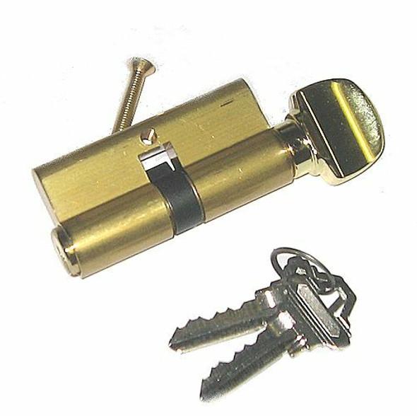 Ilco 52225-SC-US3 Profile Cylinder SC1 Brass Finish, Custom Keyed