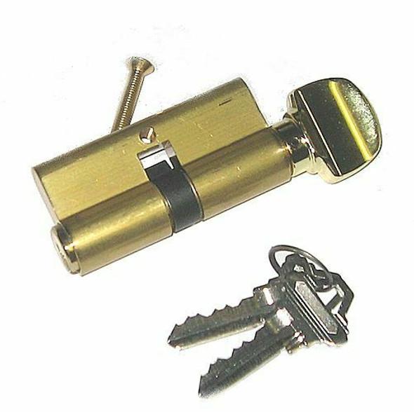 Ilco 52225-SC-10-03 Profile Cylinder SC1 Brass Finish, Cam Position 10