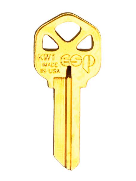 ESP KW1 Key Blank for Kwikset Standard