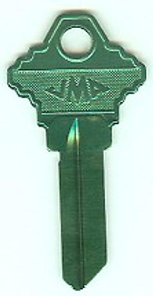 JMA SLG-3AT Aluminum Turquois Key Blank for SC1