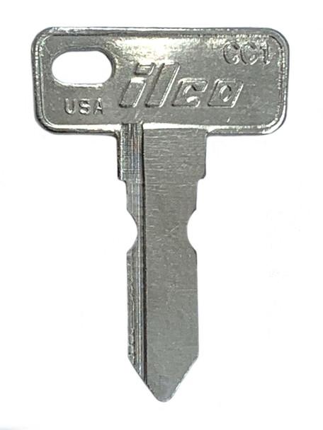 Ilco CC1 Key blank, Club Car Golf Cart