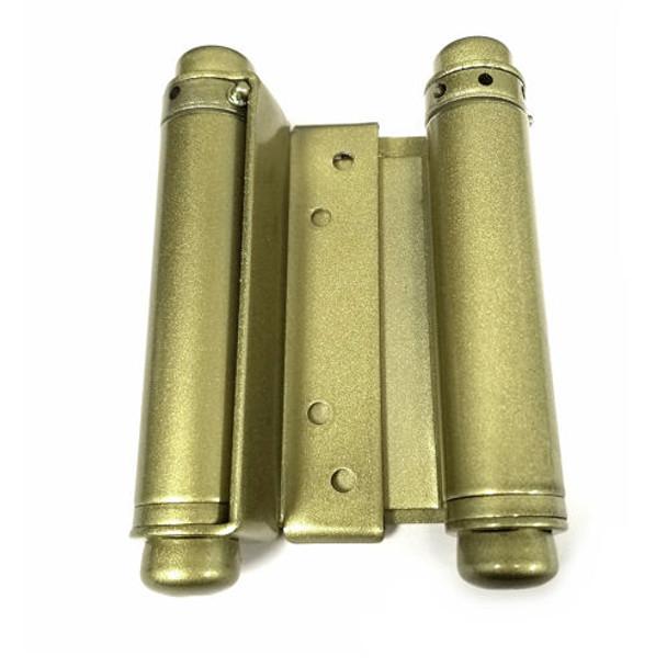"Spring Hinge (pair), Ultra Hardware 35595 Double Spring 4"" Brass Tone"