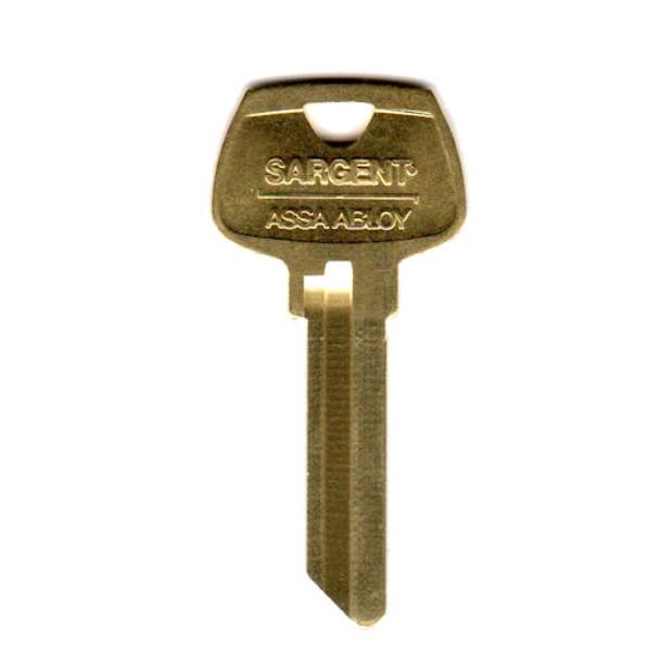 Sargent 6270RN Key Blank, 6-Pin