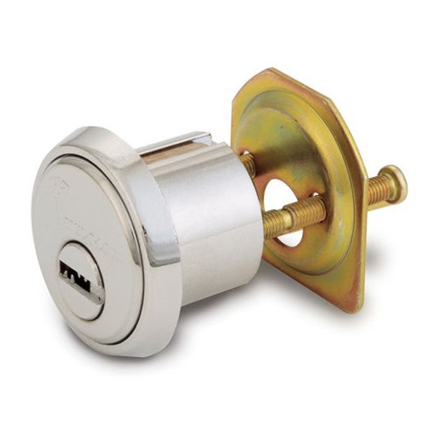 "Rim Cylinder, 1-1/8"" Horizontal Tailpiece, Mul-T-Lock 248XP-RIM1HT-26-D"