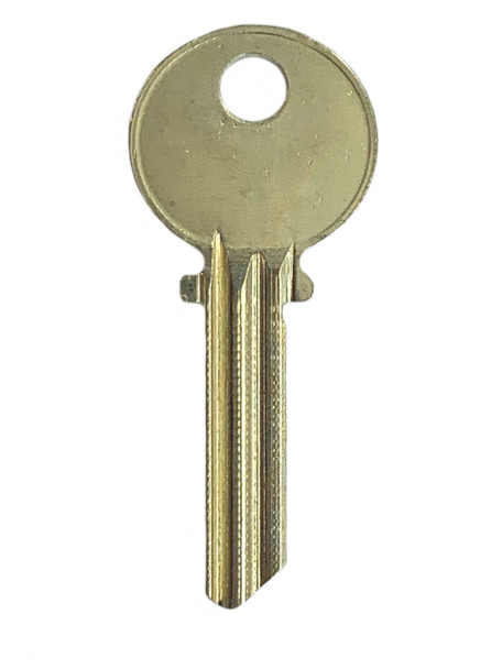 Ilco 1515 Key Blank, Medeco Air 5-pin, Nickel Silver