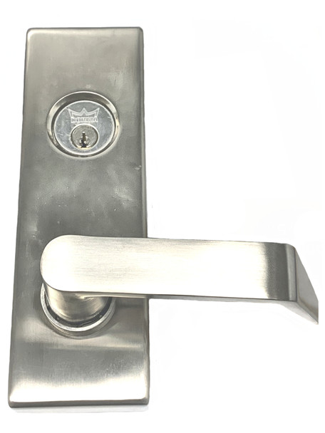 Dorma YR08-630 Exit Trim, Stainless Steel Entry Function Lever