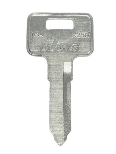 Ilco X259 Key Blank for Kawasaki ATV