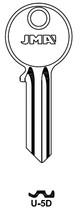 Key blank, JMA U5D for Universal UL050 NP ST