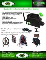 CustomEyes Cameras Wi-Fi Snap Shot SS-106 Monitor