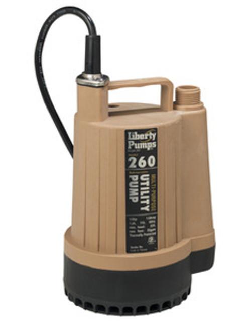 Liberty 260 1/6 hp Pump