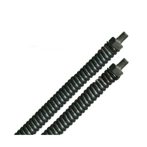 "3/8"" x 50' Straight No Core Cable W/Male Threaded Ends"