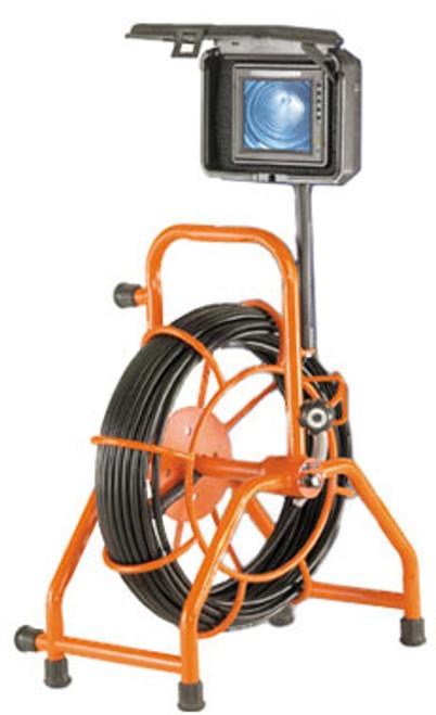 """General Gen-Eye POD WiFi (SL-GPW-A) Self Leveling Mini Color Camera, 125' Gel-Rod, 2""""-4"""" Lines"""