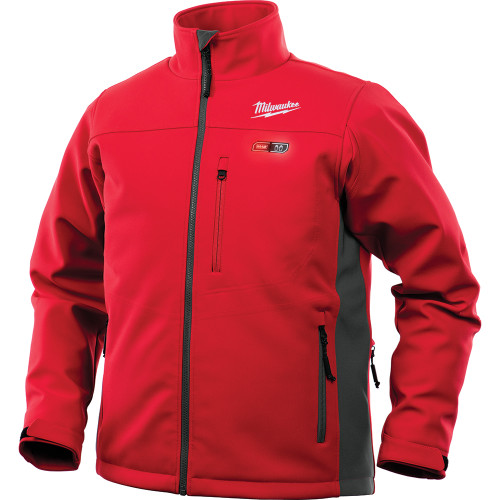 Milwaukee 202R-202X M12 Heated TOUGHSHELL Jacket Only 2X, Red