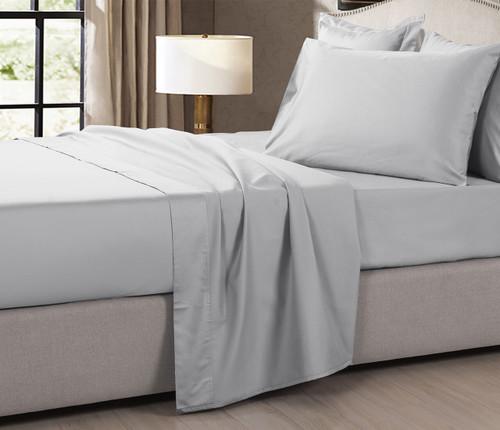 1200 Thread Count Egyptian Cotton Sheet Set | Light Grey