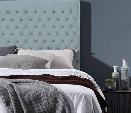Velvet Luxe Bed Head | French Blue