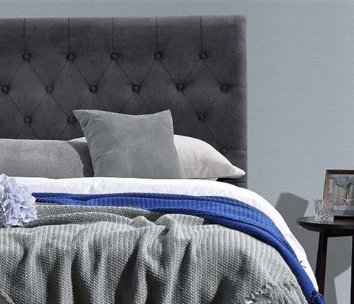 Paddington Bed Head | Charcoal