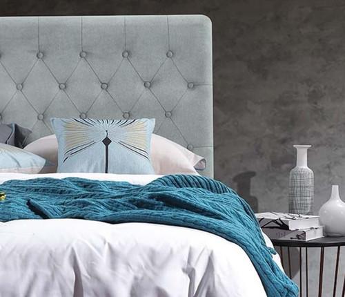 Paddington Bed Head | French Blue