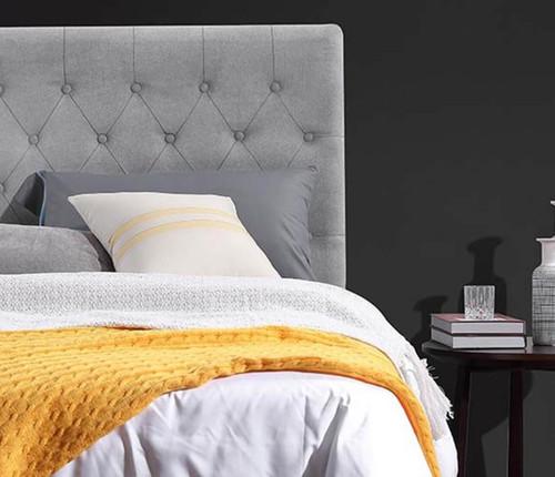 Paddington Bed Head | Light Grey