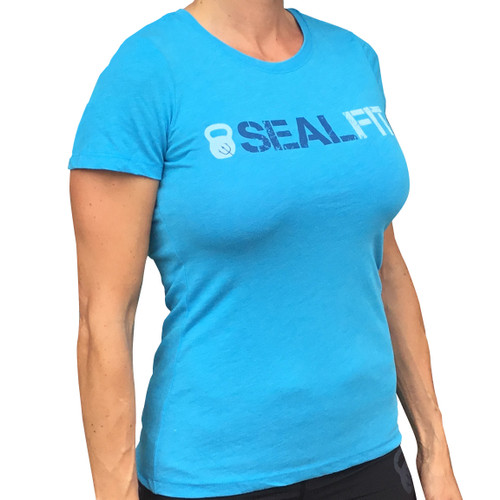 Women's Blue SEALFIT Shirt