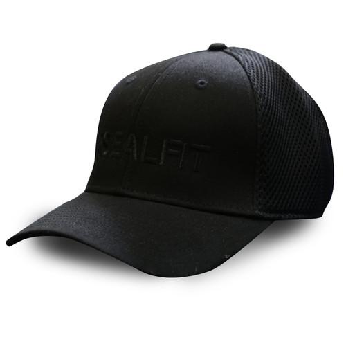 SEALFIT Flexfit Cap - Black Logo