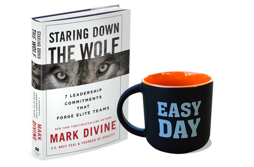 Staring Down The Wolf + Easy Day Mug