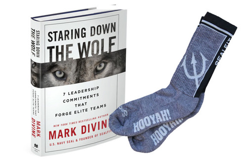 Staring Down The Wolf + Hooyah! Socks