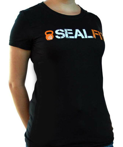 SEALFIT Logo Women's Black Shirt